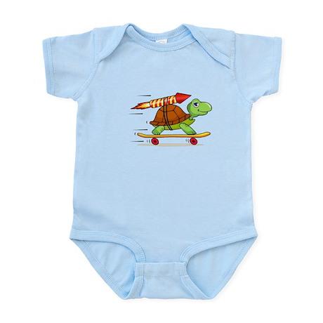 Rocket Propelled Tortoise Infant Bodysuit
