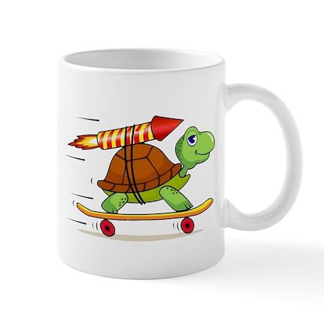 Rocket Propelled Tortoise Mug