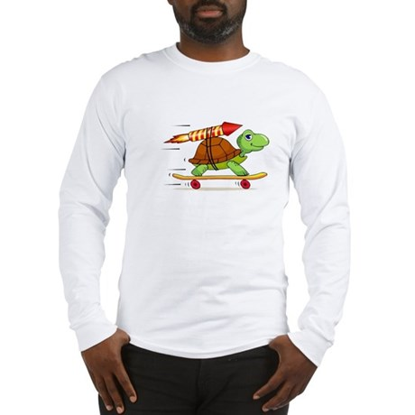 Rocket Propelled Tortoise Long Sleeve T-Shirt