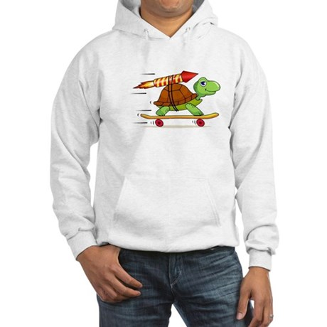 Rocket Propelled Tortoise Hooded Sweatshirt
