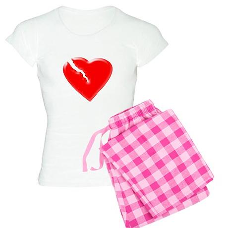 Broken Heart Women's Light Pajamas