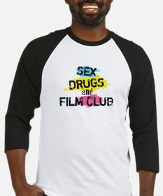 Sex Drugs And Film Club Baseball Jersey