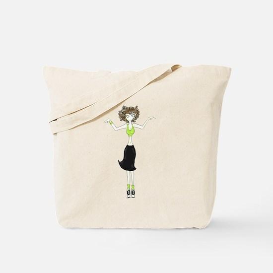 Tap Toes Tote Bag