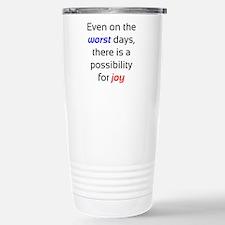 Possibility For Joy Stainless Steel Travel Mug