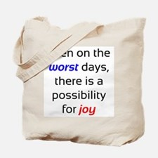 Possibility For Joy Tote Bag