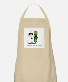 Snakes on a Lane BBQ Apron