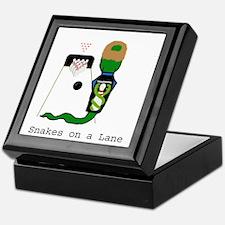 Snakes on a Lane Keepsake Box