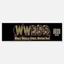 Daryl Dixon Zombie Ear Necklace Bumper Bumper Bumper Sticker