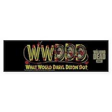 Daryl Dixon Zombie Ear Necklace Bumper Bumper Sticker