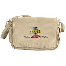 Sex Drugs And Model United Nations Messenger Bag