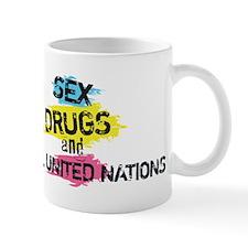 Sex Drugs And Model United Nations Mug