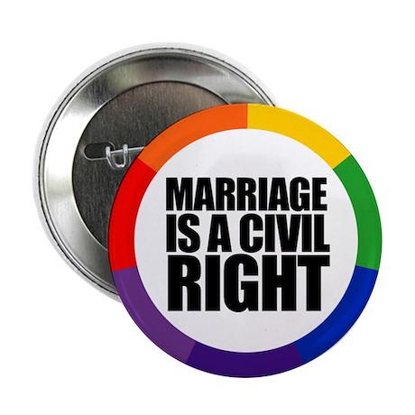 MARRIAGE / CIVIL RIGHT Button