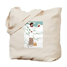 Coles Phillips - New England Christmas Tote Bag