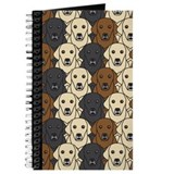 Dog breeds labrador Journals & Spiral Notebooks