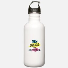 Sex Drugs And Netball Water Bottle
