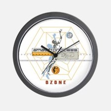Smash process Wall Clock