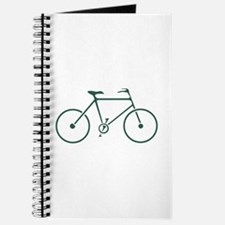 Green and White Cycling Journal