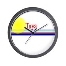Taya Wall Clock