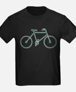 Green and White Cycling T