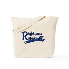 Righteous Repair Tote Bag