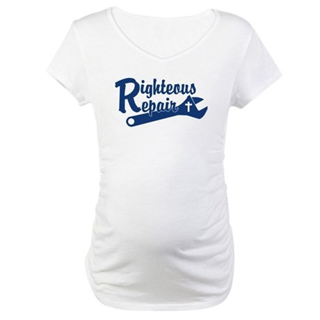 Righteous Repair Maternity T-Shirt