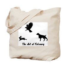 Brittany and Falconry Tote Bag