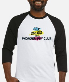 Sex Drugs And Photography Club Baseball Jersey
