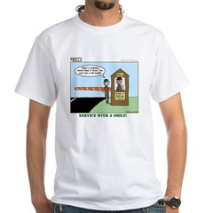 Service White T-Shirt