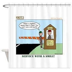 Service Shower Curtain