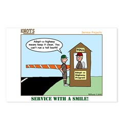 Service Postcards (Package of 8)
