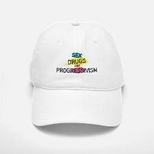 Sex Drugs And Progressivism Baseball Baseball Cap