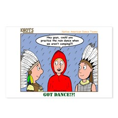Rain Dance Postcards (Package of 8)