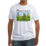 Wood Carving Fitted T-Shirt
