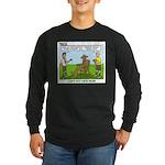 Wood Carving Long Sleeve Dark T-Shirt