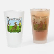 Wood Carving Drinking Glass