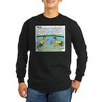 Reptile Study Long Sleeve Dark T-Shirt