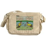 Reptile Study Messenger Bag