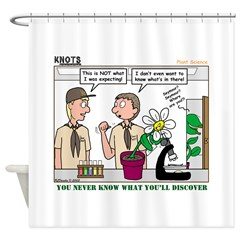 Plant Study Shower Curtain