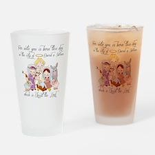Baby Jesus Drinking Glass