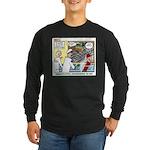 Pioneering in Space Long Sleeve Dark T-Shirt