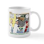Pioneering in Space Mug