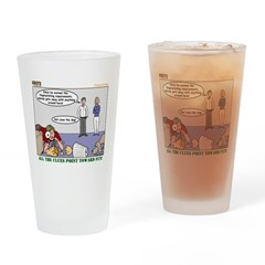 Fingerprinting Drinking Glass