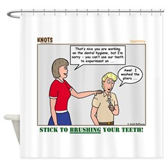 Dentistry Shower Curtain