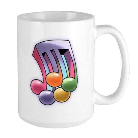 4/5 Time Large Mug