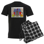 Camp Totems Men's Dark Pajamas