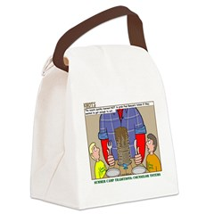 Camp Totems Canvas Lunch Bag