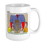 Camp Totems Large Mug