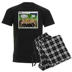 Camp Sick Men's Dark Pajamas