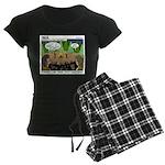 Camp Sick Women's Dark Pajamas