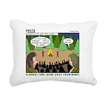 Camp Sick Rectangular Canvas Pillow